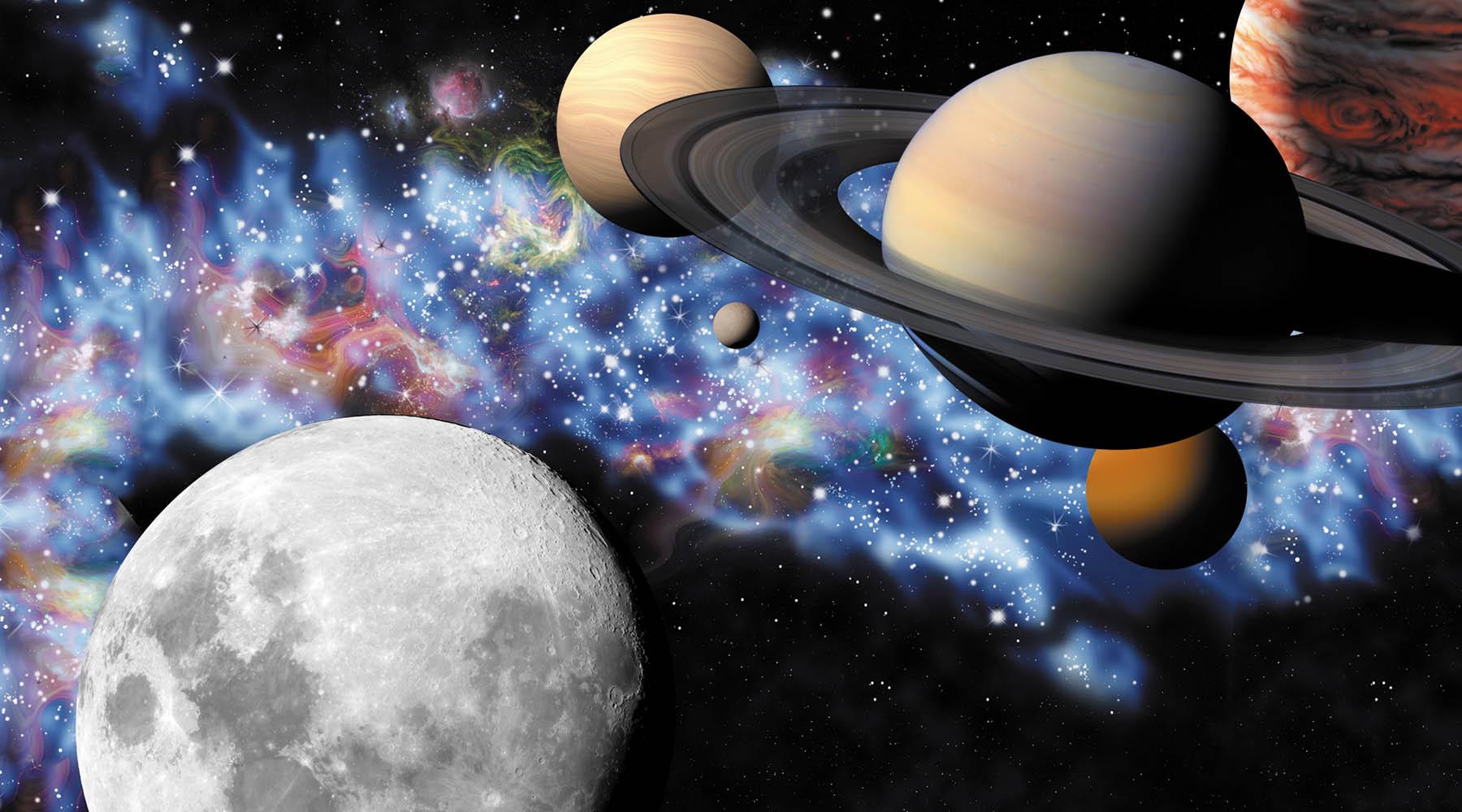 Солнечная система фотообои